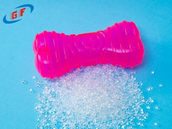 TPR材料粘胶水发白发硬是为什么?